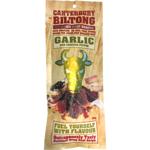 Canterbury Biltong Air-Dried Garlic Beef Snacks 100g