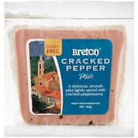 Breton Cracked Pepper Pate 100g