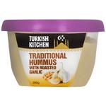 Turkish Kitchen Traditional Hummus With Roasted Garlic 200g