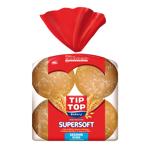 Tip Top Supersoft Sesame King Hamburger Buns 8ea