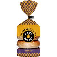 Abe's The Cinnamon & Raisin Bagels 360g