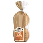 MacKenzie Sprouted Grains Wholegrain Burger Buns 400g
