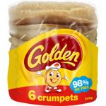 Golden Crumpets 6ea