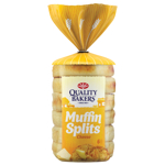 Quality Bakers Original Cheese Muffin Splits 6ea