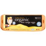 Golden Downs Organic Free Range Mixed Grade Eggs 12ea