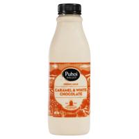 Puhoi Valley Caramel & White Chocolate Milk 750ml