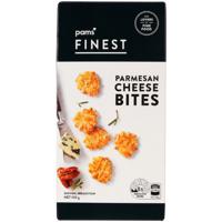 Pams Finest Parmesan Cheese Bites 100g