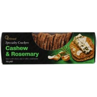Ob Finest Cashew & Rosemary Specialty Crackers 150g