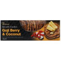 Ob Finest Goji Berry & Coconut Speciality Crackers 150g