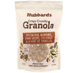 Hubbards Pistachio, Almond, Chia Seeds, Coconut & Vanilla Granola 400g