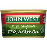 John West Wild Alaskan Red Salmon 210g