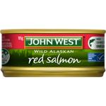 John West Wild Alaskan Red Salmon 105g