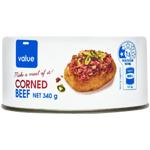 Value Corned Beef 340g