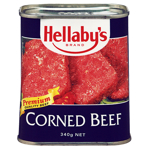 Hellabys Corned Beef 340g