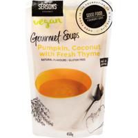 Seasons Pumpkin, Coconut With Fresh Thyme Vegan Gourmet Soup 450g