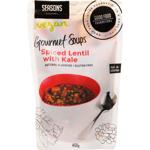 Seasons Spiced Lentil With Kale Vegan Gourmet Soup 450g
