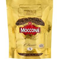 Moccona Classic Freeze Dried Medium Roast Coffee 5 90g