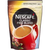Nescafe Classic Fine Blend Coffee 100g