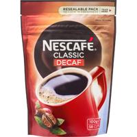 Nescafe Classic Decaf Coffee 100g