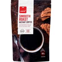 Pams Smooth Roast Powdered Coffee 100g