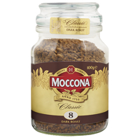 Moccona Classic Coffee Dark Roast 100g