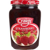 Craig's Strawberry Fruit Jam 375g
