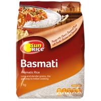 SunRice Basmati Aromatic Rice 1kg