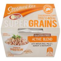 SunRice Quick Cup Super Grains Active Blend 250g
