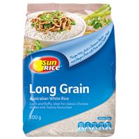SunRice Long Grain White Rice 500g