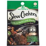 McCormick Slow Cookers Garlic & Herb Lamb Shanks 40g