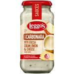 Leggo's Fresh Cream Onion & Cheese Cabonara Sauce 490g