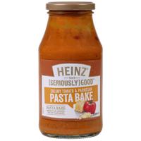 Heinz Seriously Good Creamy Tomato & Parmesan Pasta Bake 500g