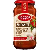 Leggo's Mushroom Chunky Tomato & Herbs Bolognese Sauce 500g