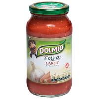 Dolmio Extra Garlic Pasta Sauce Jar 500g