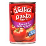 Wattie's Traditional Pasta Sauce Tomato & Red Capsicum 420g
