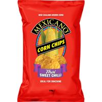Mexicano Thai Sweet Chilli Corn Chips 170g
