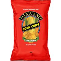 Mexicano Sea Salt & Lime Corn Chips 170g