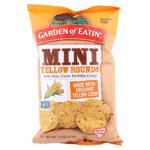 Garden of Eatin' Mini Yellow Rounds Bite Size Corn Tortilla Chips 212g