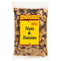 Value Pack Nuts & Raisins 400g