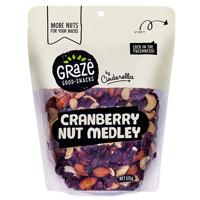Graze Cranberry Nut Medley 515g