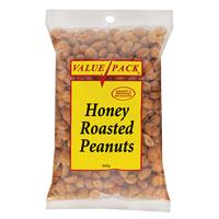 Value Pack Honey Roasted Peanuts 300g
