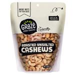 Graze Roasted Unsalted Cashews 500g