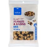 Value Peanuts & Raisins Mix 400g
