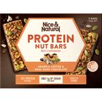 Nice & Natural Arabica Coffee & Dark Chocolate Protein Nut Bars 5pk