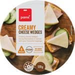 Pams Creamy Cheese Wedges 120g