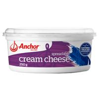 Anchor Spreadable Cream Cheese 250g