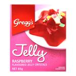 Gregg's Raspberry Jelly Crystals 85g