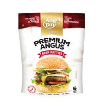 Angel Bay Premium Angus Beef Burger Patties 6ea