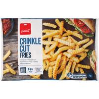 Pams Crinkle Cut Fries 1kg