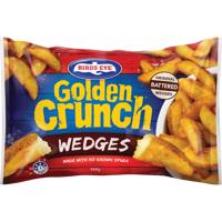 Birds Eye Golden Crunch Wedges 750g